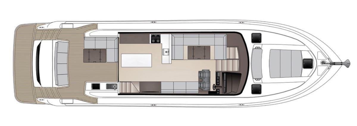 Maritimo X60 - Standard Utility w/ Optional Tender Garage 01