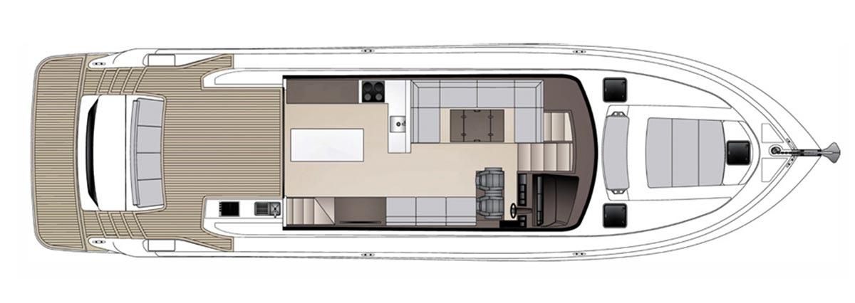 Maritimo X60 - Aft Cabin Option 01