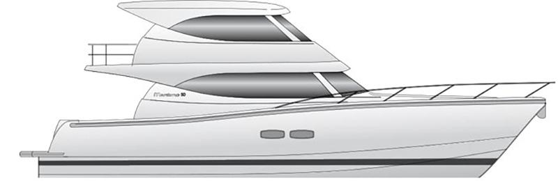 Maritimo M54 Profile