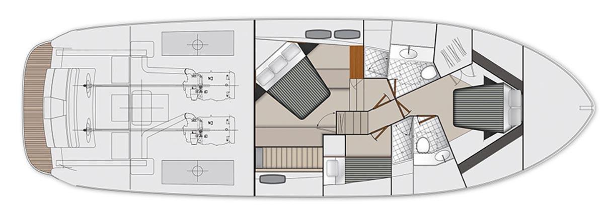 Maritimo M51 - Accommodations - Utility Room (optional)